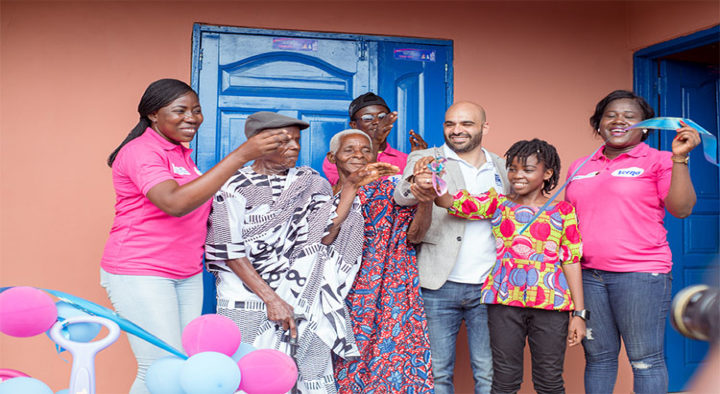 Twellium Foundation Inaugurates New Classroom Unit And Washrooms For The People of Dzabukpo